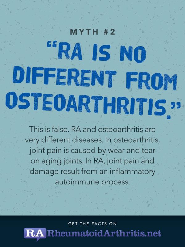 Ra Myths And Misconceptions Rheumatoidarthritis Net