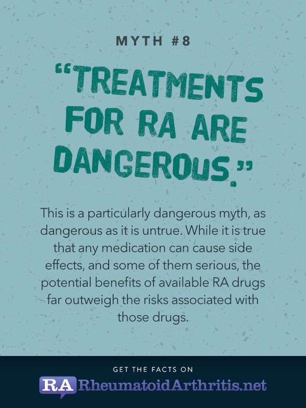 RA myths and misconceptions
