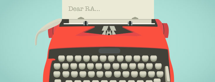 "My ""Dear John"" Letter for RA"