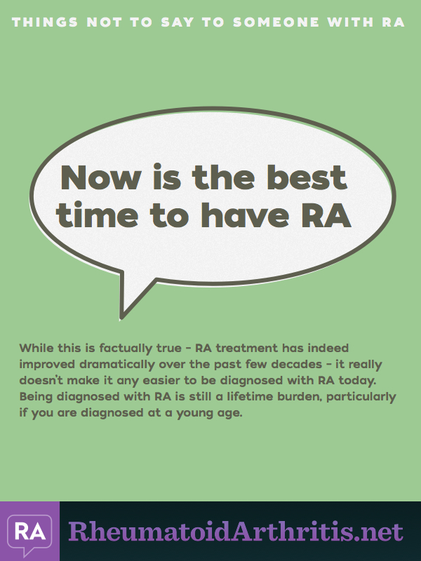 8 Things Not To Say To Someone Who Has Ra