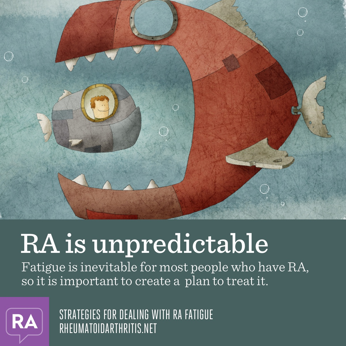 Strategies for dealing with RA fatigue