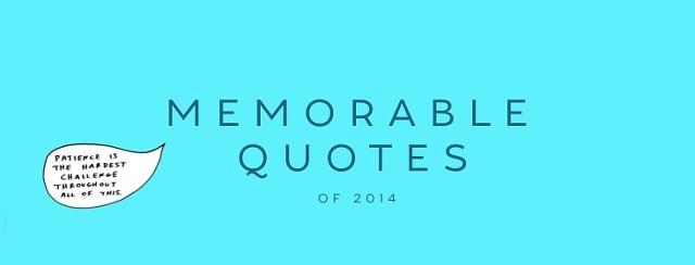 Memorable RA quotes