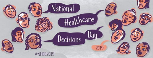 National Healthcare Decisions Day 2019 image